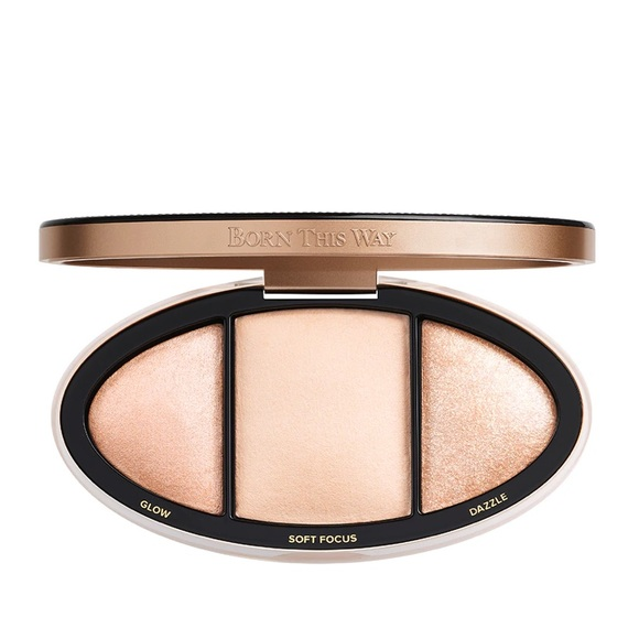 too faced turn up the light highlight palette